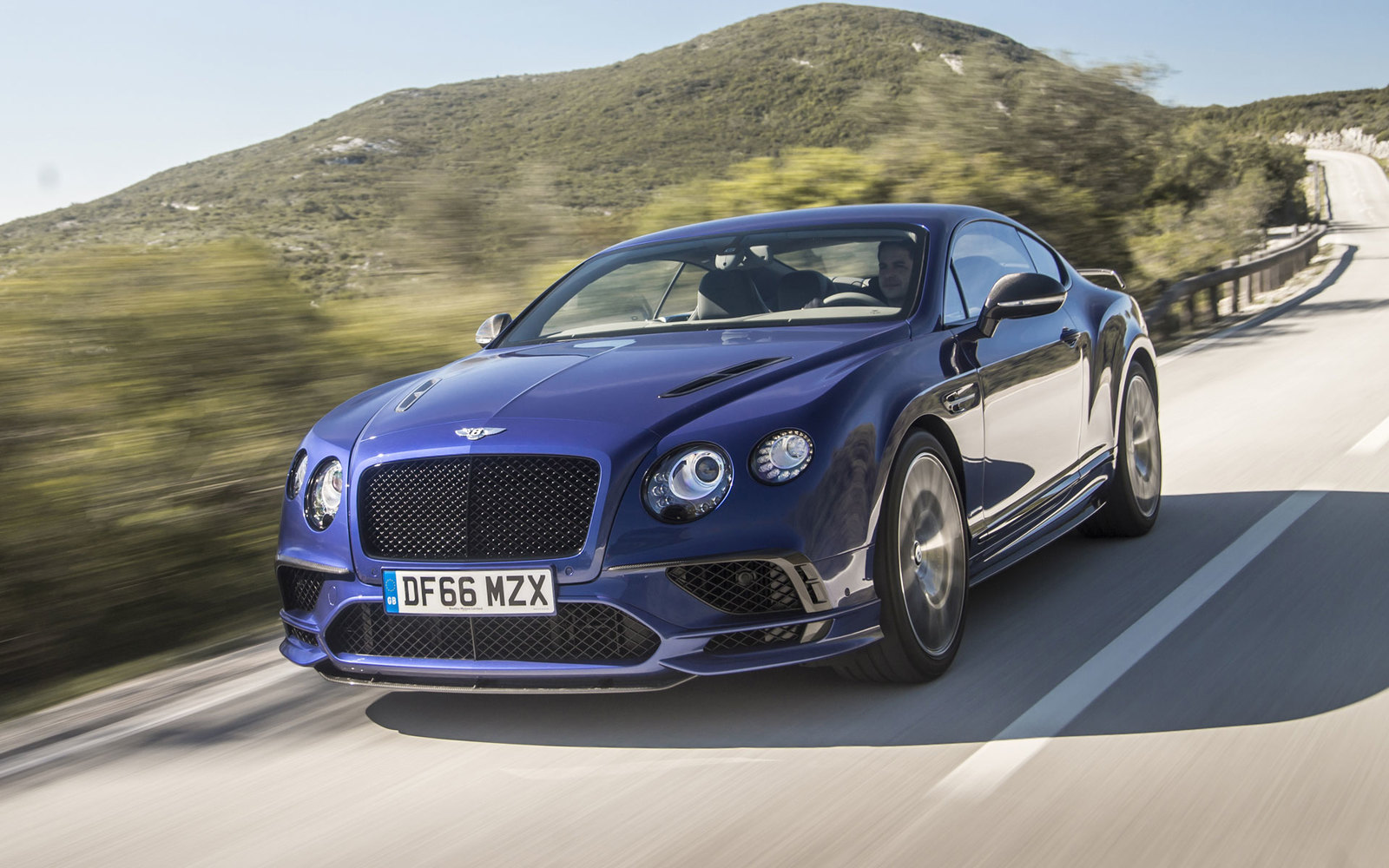 Bentley GT Moroccan Blue