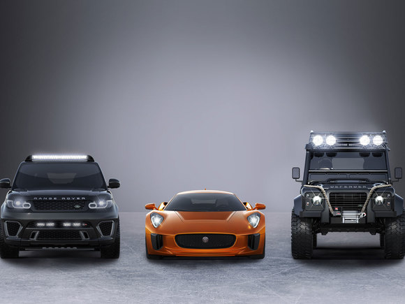 Bond Cars in Spectre