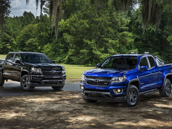 Chevrolet Colorado Sonderedition 2015
