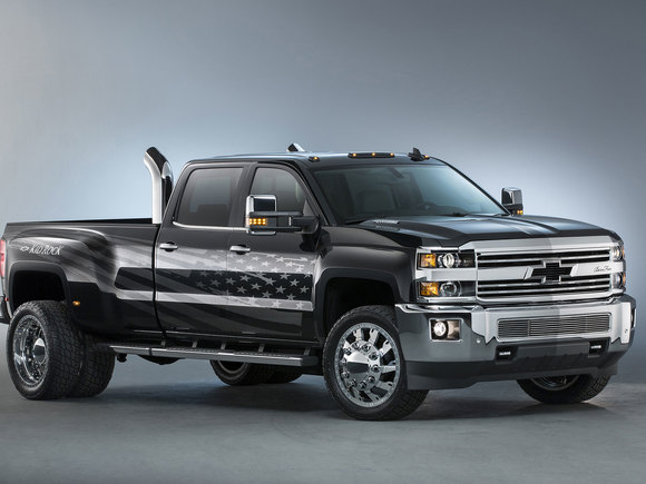 Chevrolet Silverado HD Kid Rock