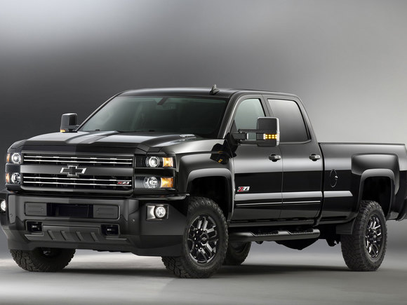 Chevrolet Silverado Midnight Edition 2016