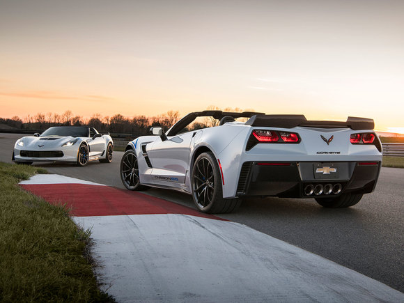 Corvette C65 Carbon Edition