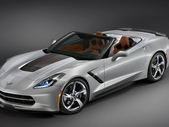 Corvette Stingray Convertible im Atlantic Design