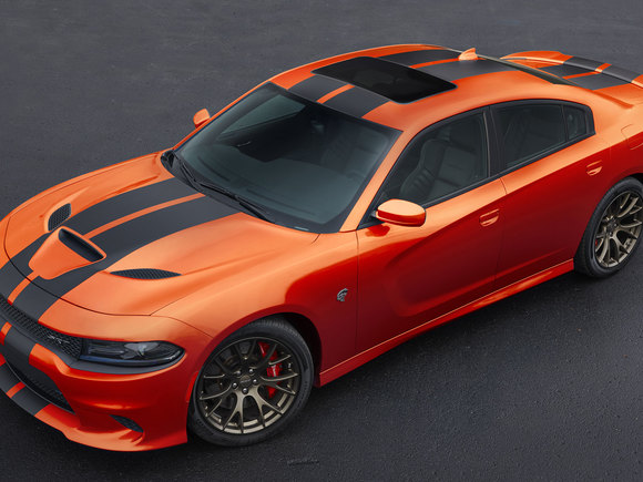 Dodge Charger Go Mango