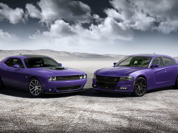 Dodge Plum Crazy