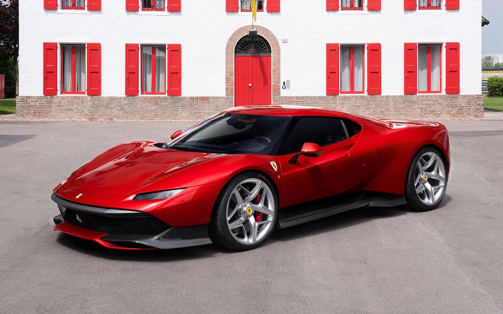 Ferrari SP38 – Bildschirmhintergrund zum Download am 15.06.2018 ...