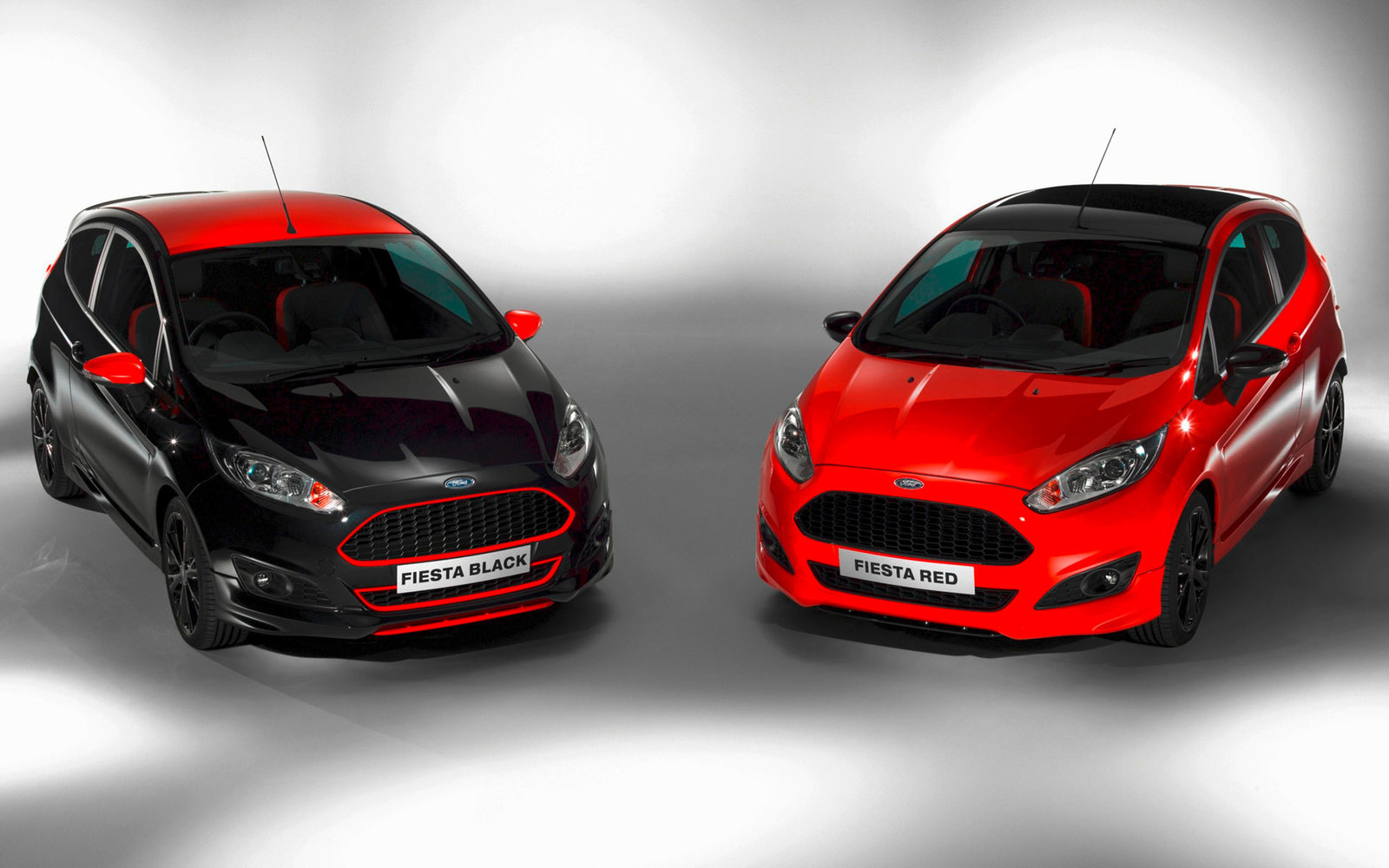 Ford Fiesta Red Edition und Black Edition