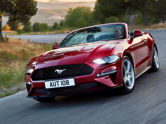 Ford Mustang Cabrio Facelift