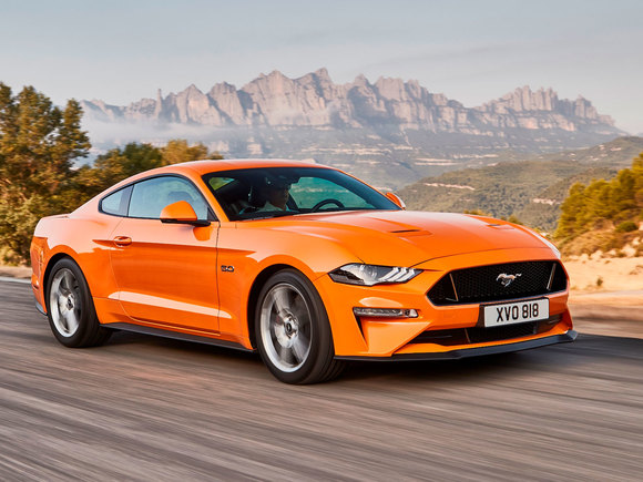 Ford Mustang Coupé Facelift