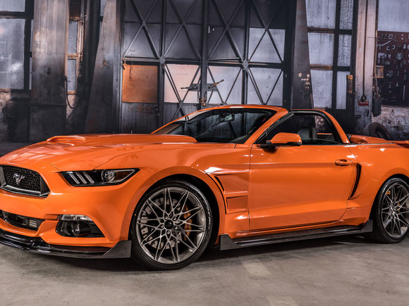 Ford Mustang Stitchcraft