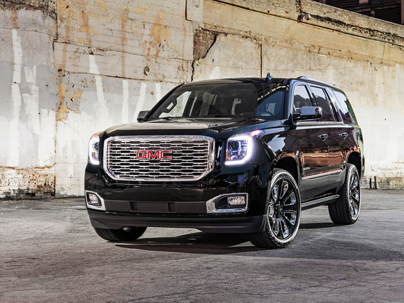 GMC Yukon Denali Ultimate Black