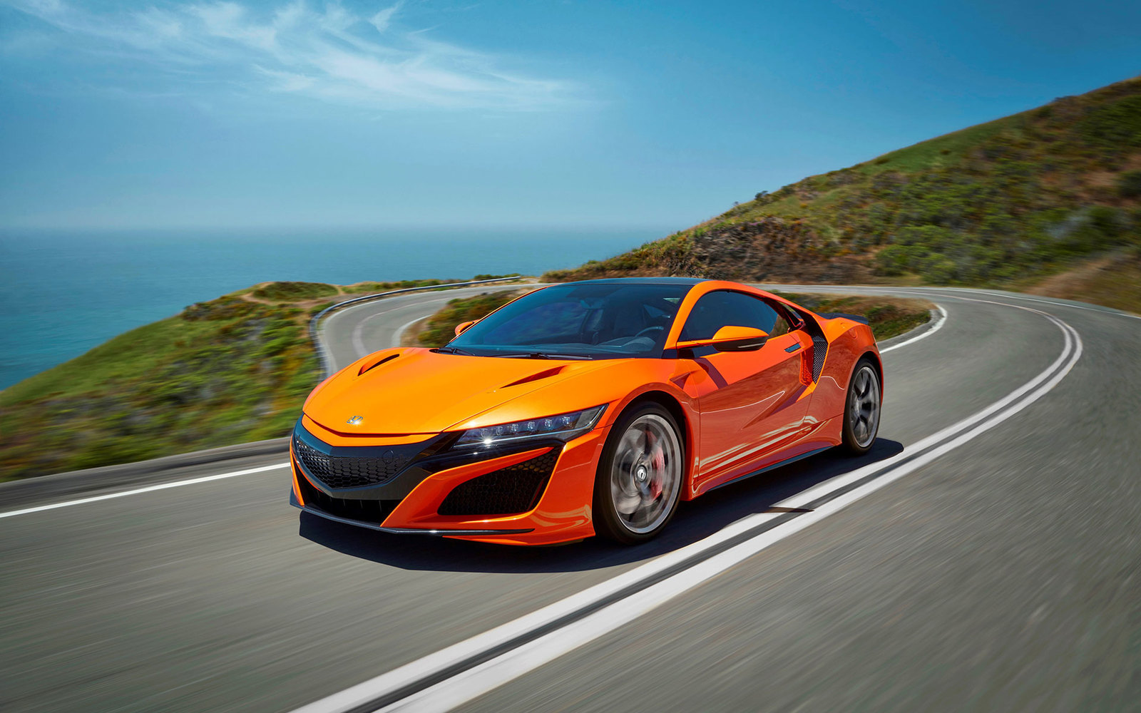 Honda NSX Orange