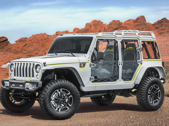 Jeep Easter Safari 2017 Wrangler