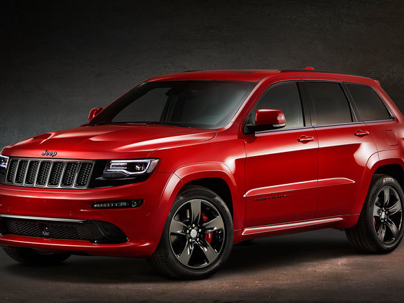 Jeep Grand Cherokee Red Vapor