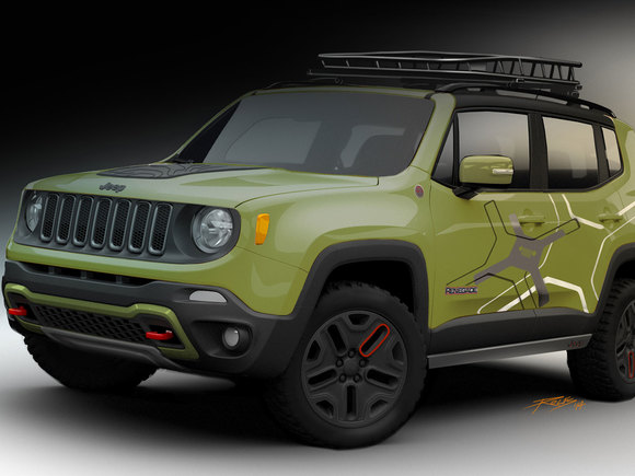 Jeep Renegade Safari