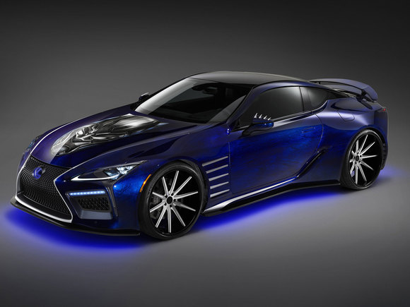 Lexus LC Black Panther Inspired