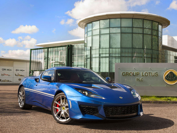 Lotus Evora 400 Sonderedition Hethel
