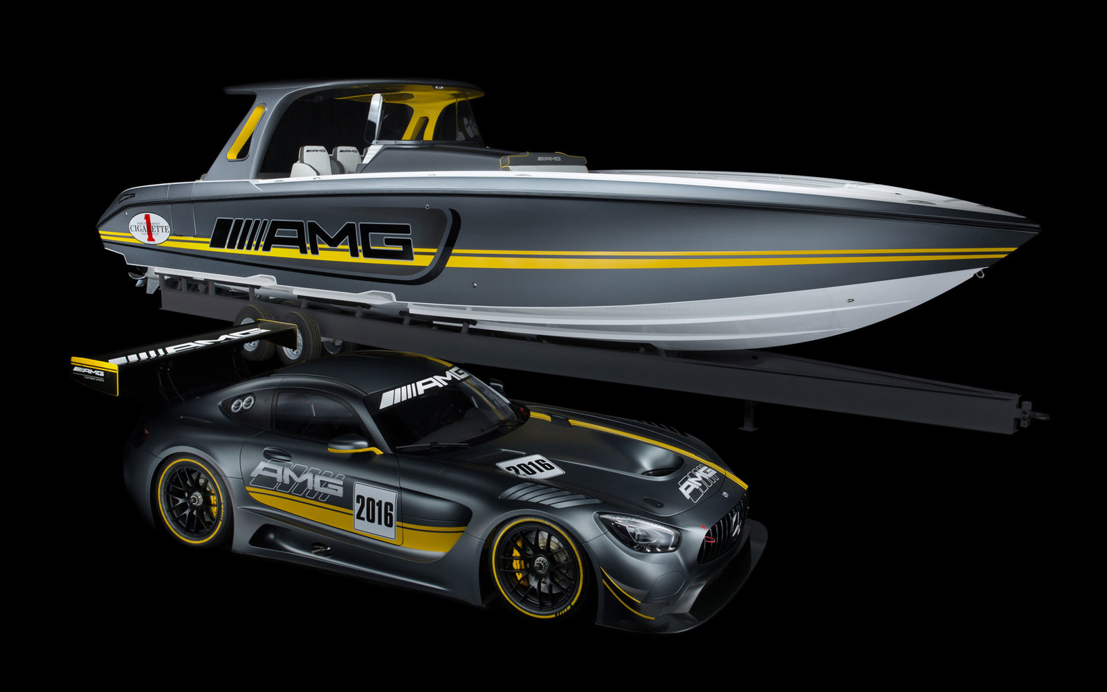 Mercedes AMG GT3 Boot Show