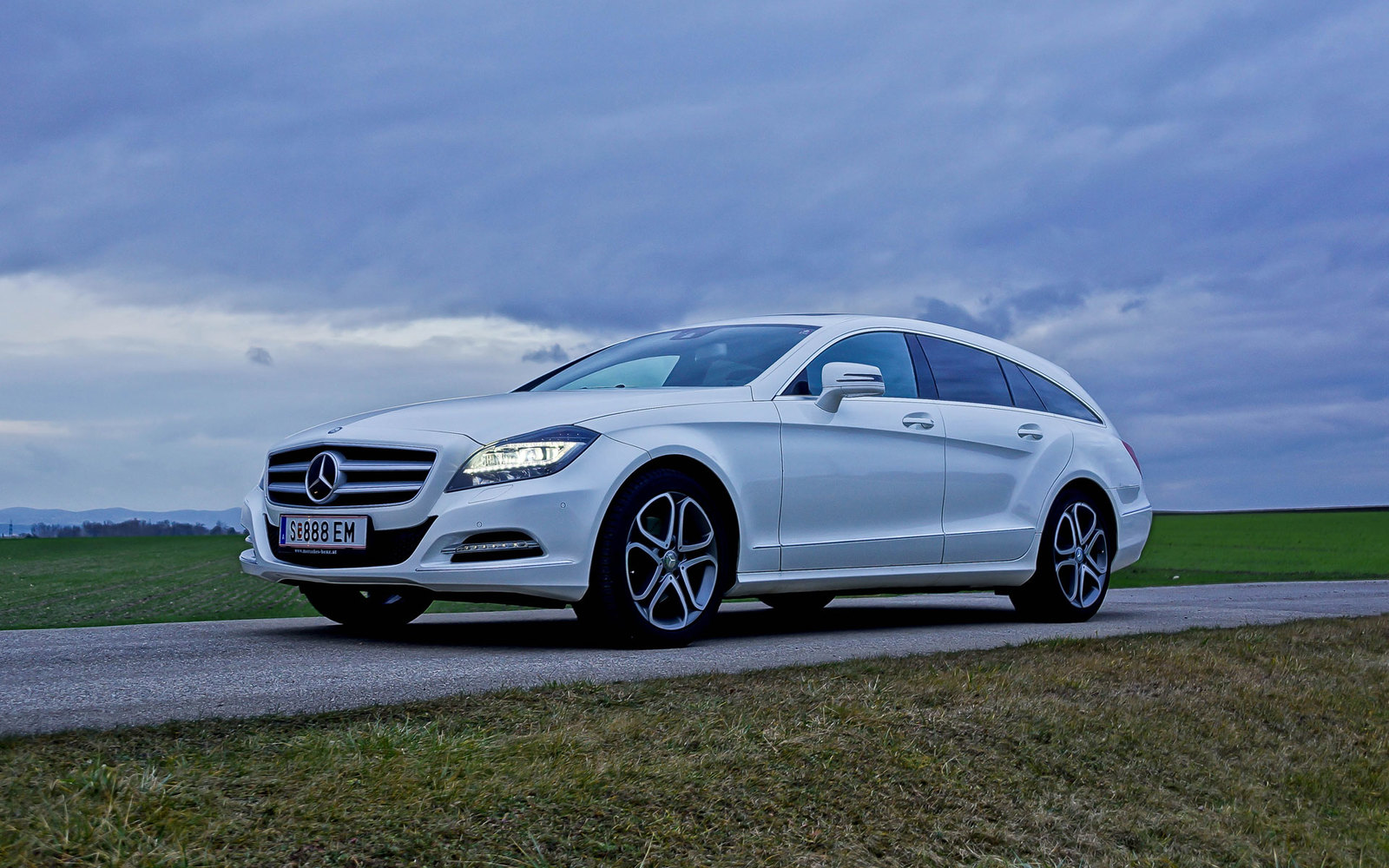 Der Mercedes CLS Shooting Brake