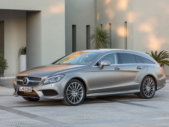 Mercedes CLS Shooting Brake Facelift