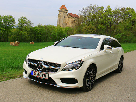 Mercedes CLS400 4Matic Shooting Brake
