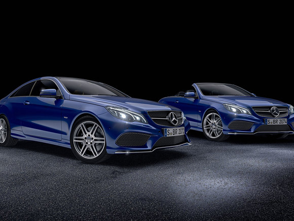 Mercedes E-Klasse Sonderedition