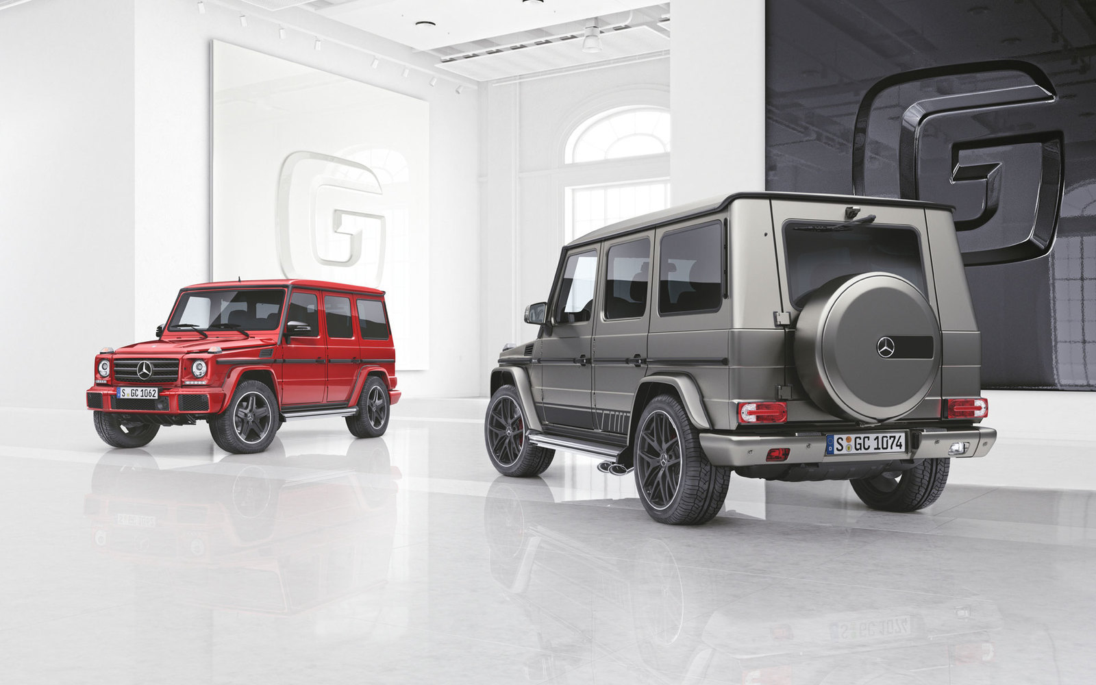 Mercedes G-Klasse Editionen 2017