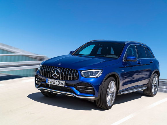 Mercedes GLC 43 4Matic Facelift Premiere