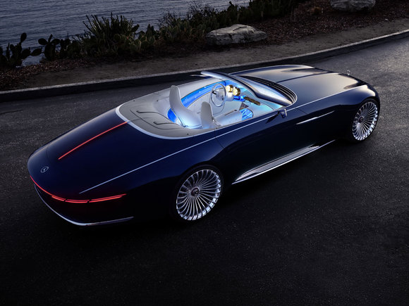 Mercedes-Maybach 6 Cabrio Winter