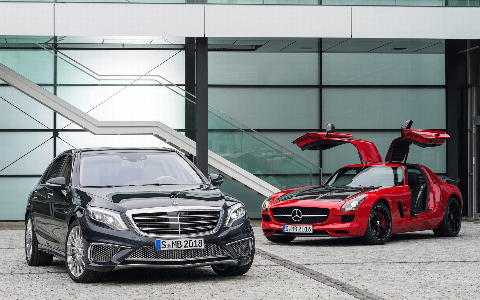 Mercedes S 65 AMG und SLS AMG GT Final Edition
