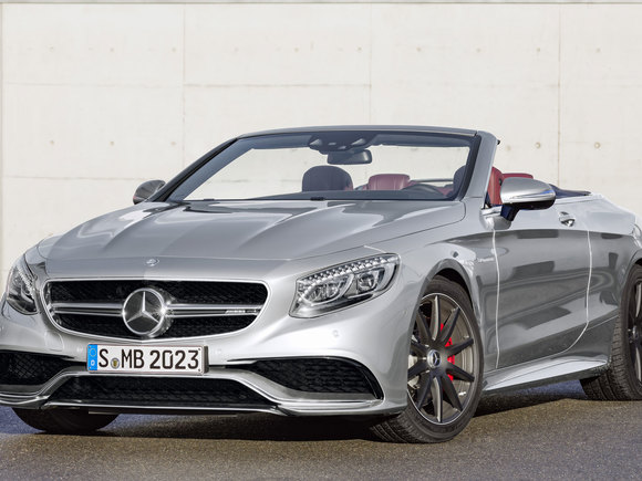 Mercedes S63 4Matic Cabrio Edition 130