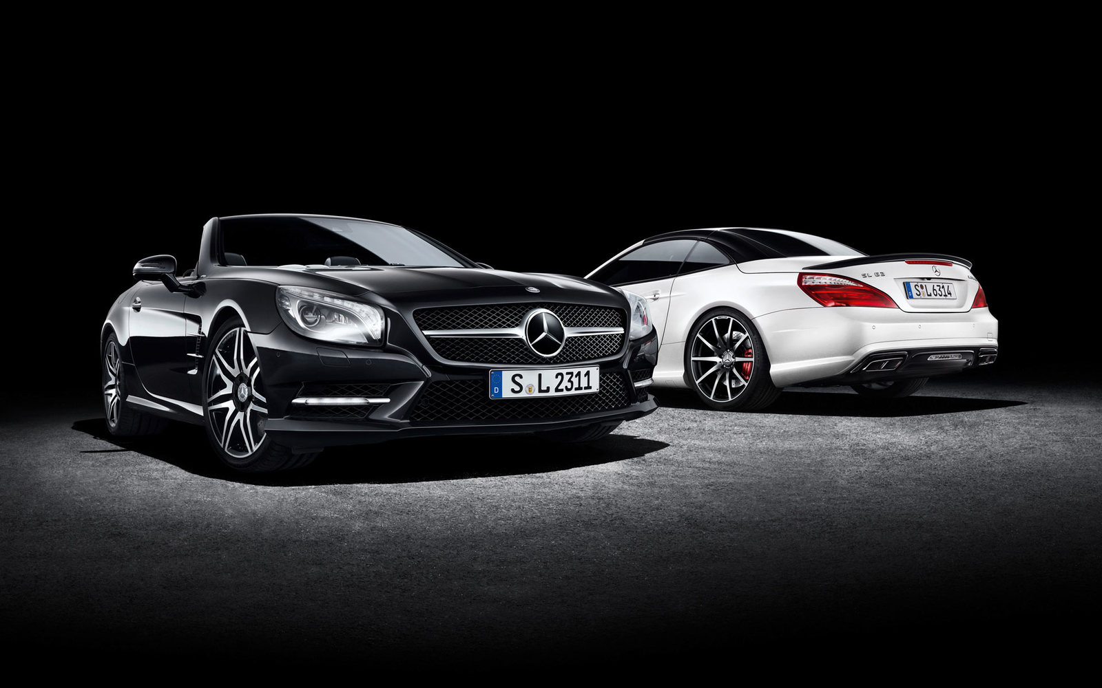 Mercedes SL 2Look Edition