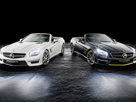 Mercedes SL Collectors Edition F1