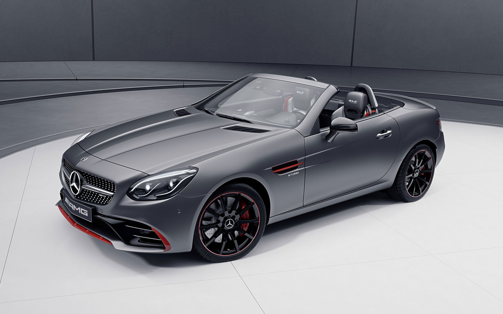 Mercedes SLC Red Art Edition