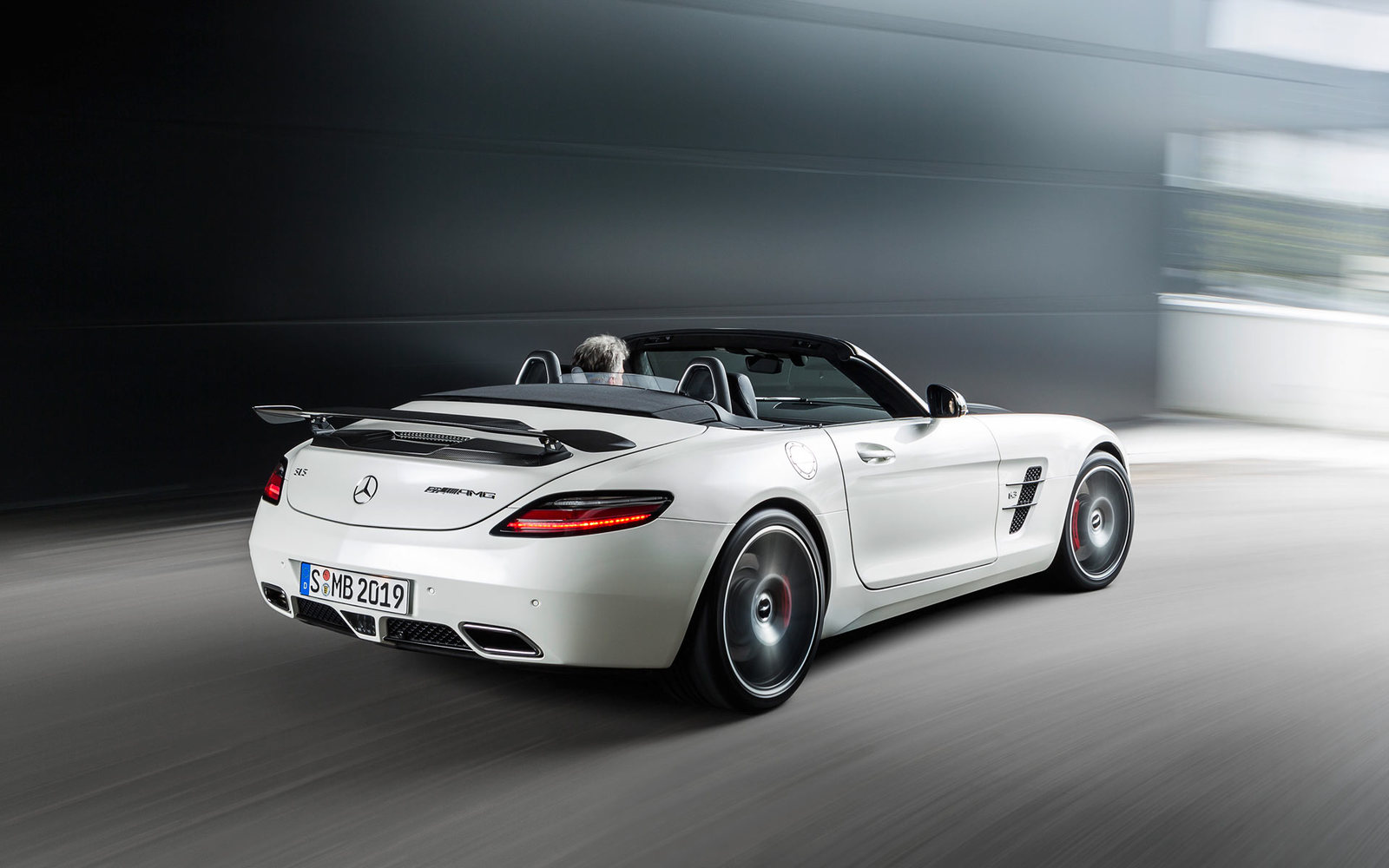 Mercedes SLS AMG GT Roadster Final Edition