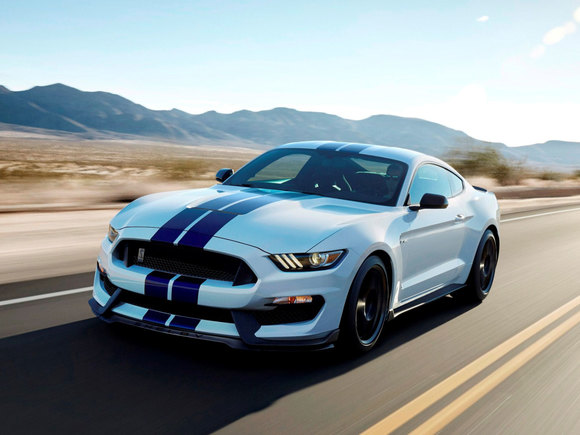 Der neue Ford Mustang Shelby GT 350
