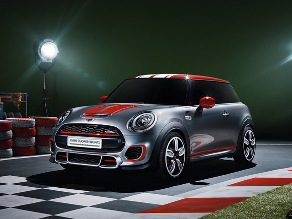 Neuer Mini John Cooper Works in Detroit