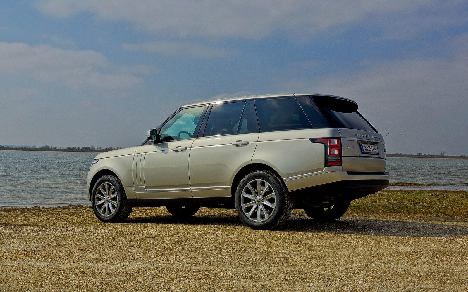 neuer range rover sdv8 bildschirmhintergrund zum download am auto. Black Bedroom Furniture Sets. Home Design Ideas