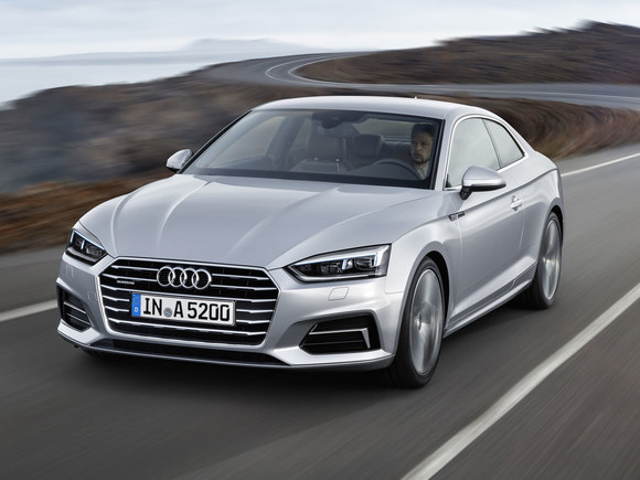Neues Audi A5 Coupé