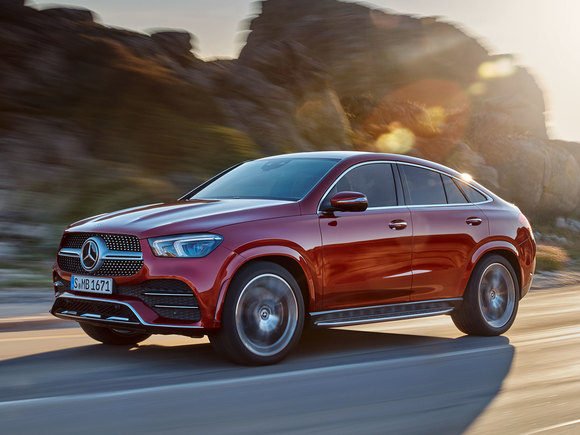 Neues Mercedes GLE Coupe 2019