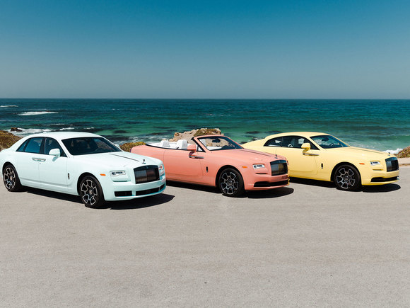 Rolls Royce Pebble Beach Collection