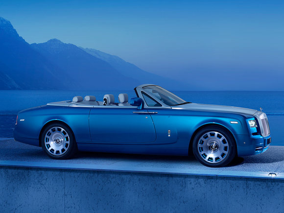 Rolls Royce Phantom Drophead Coupé Waterspeed