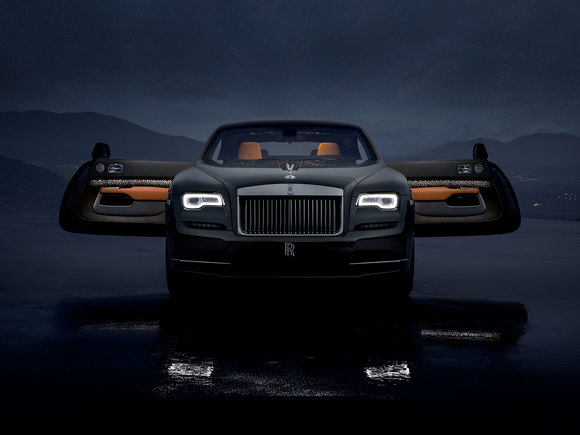 Rolls Royce Wraith Luminary Collection 2018