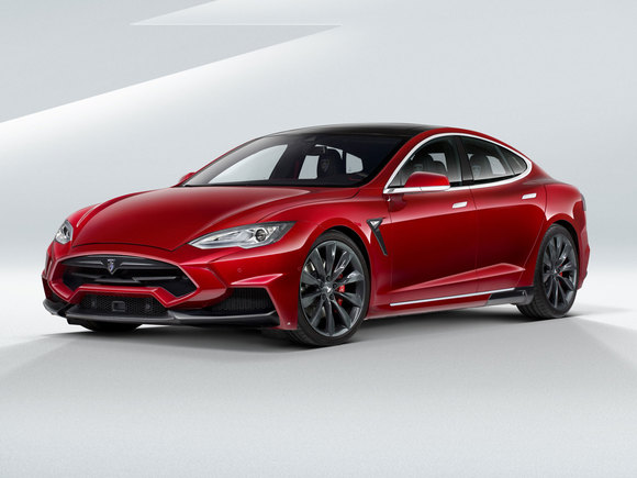 Tesla Model S by Larte