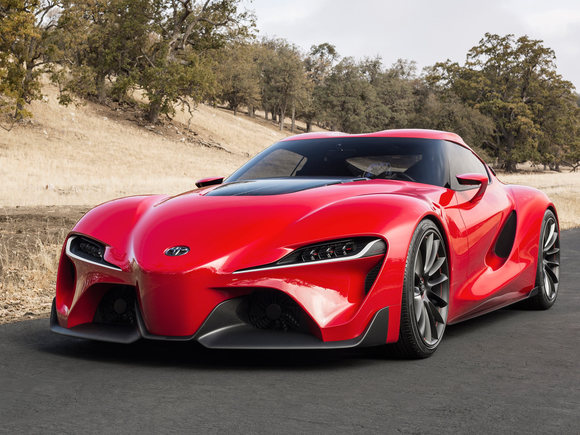 Toyota FT-1 in Detroit