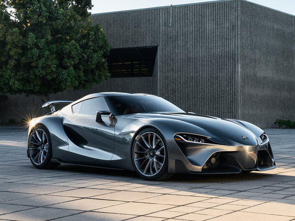 Toyota FT-1 neue Version