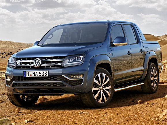 VW Amarok V6 Facelift