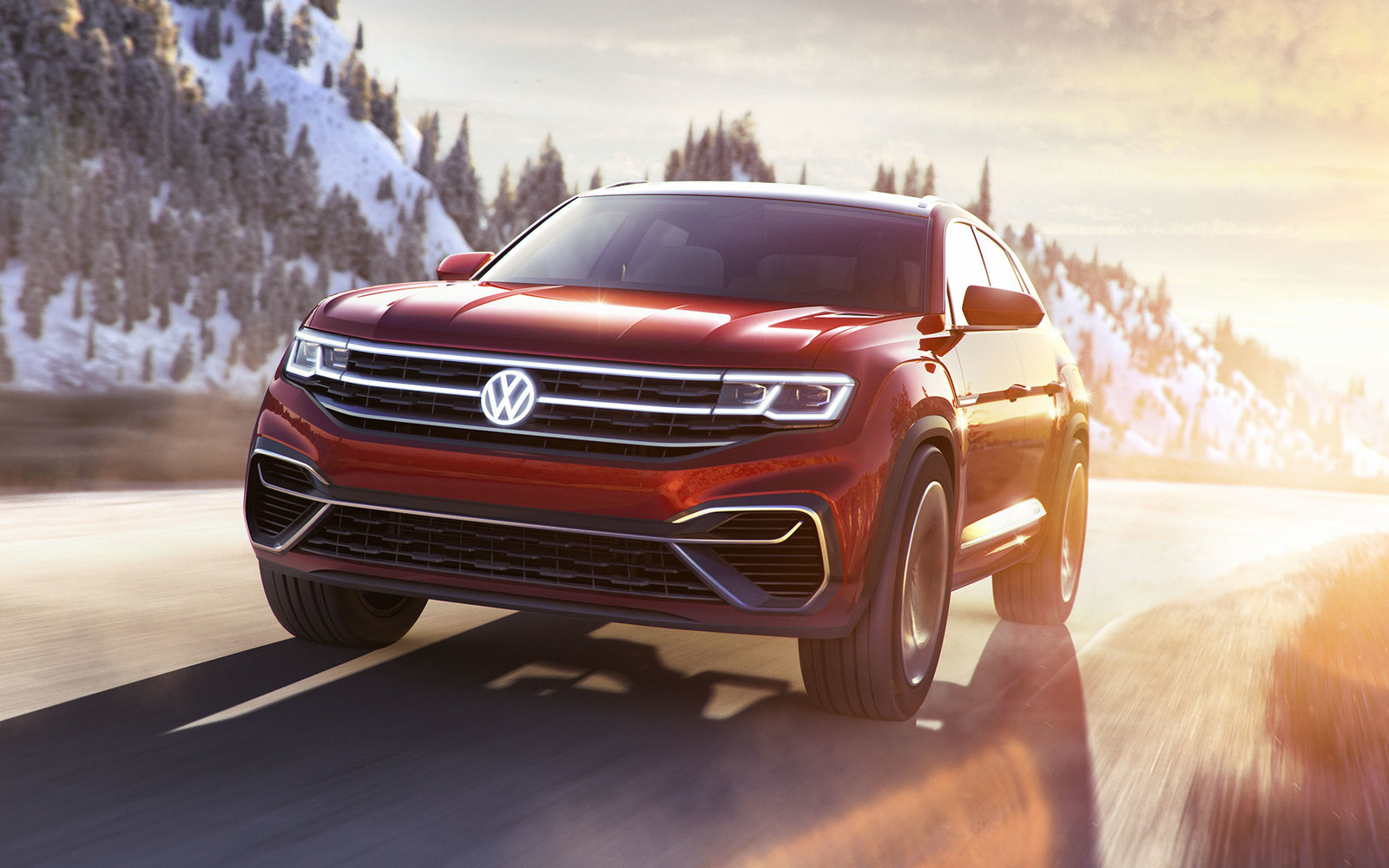 VW Atlas Cross Sport Concept Premiere