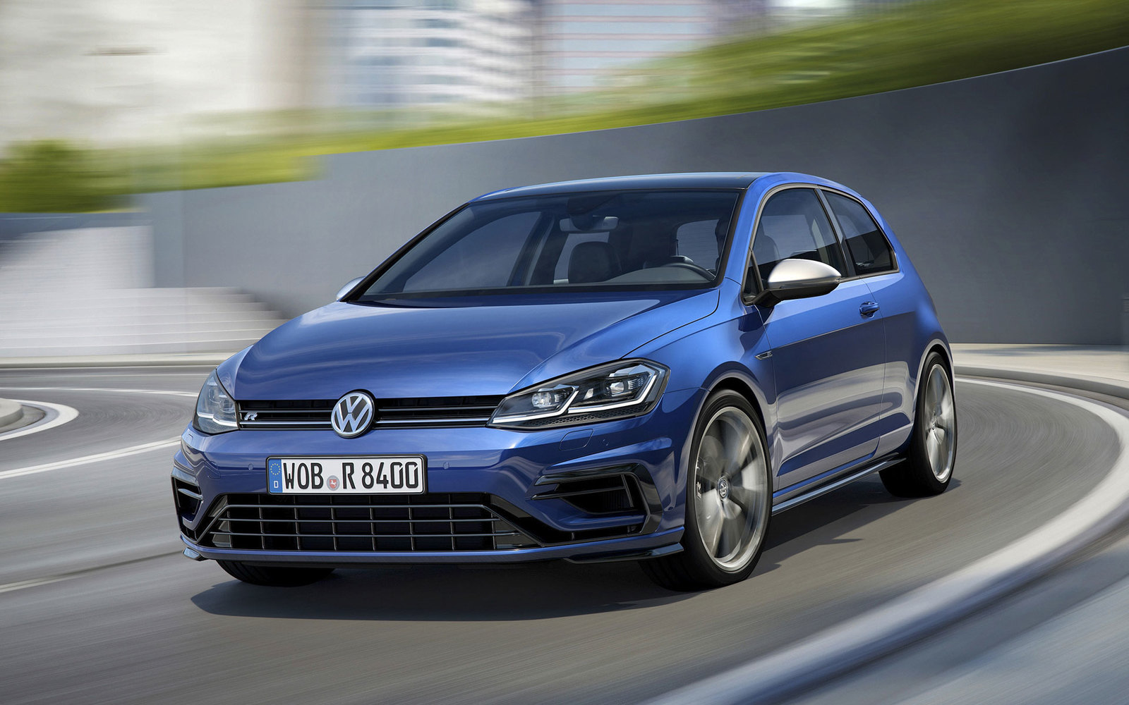VW Golf R Facelift