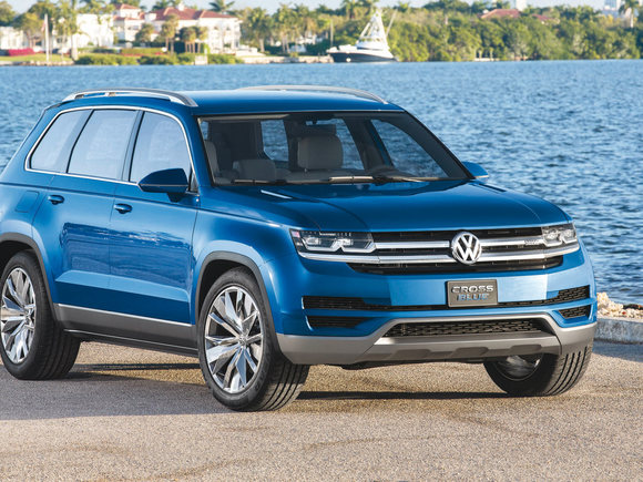 VW Mid-Size-SUV Produktion